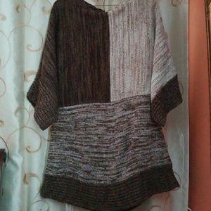Large women's sweater